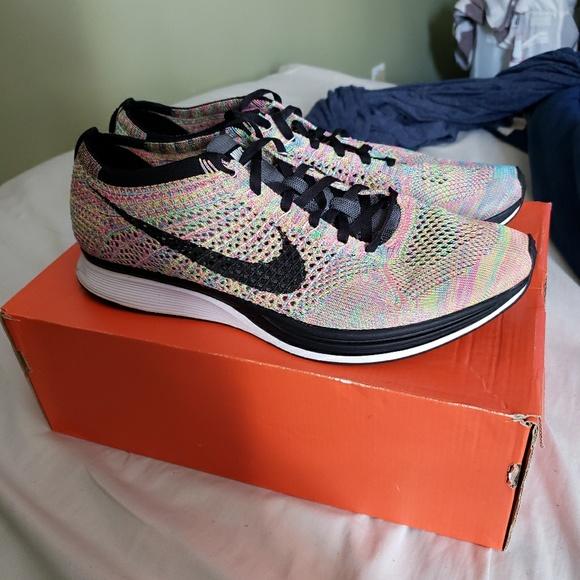 sports shoes 165c2 18846 Nike flyknit racer OG multi-color flat lace. M 5c4b5557c6177724fe172a8e
